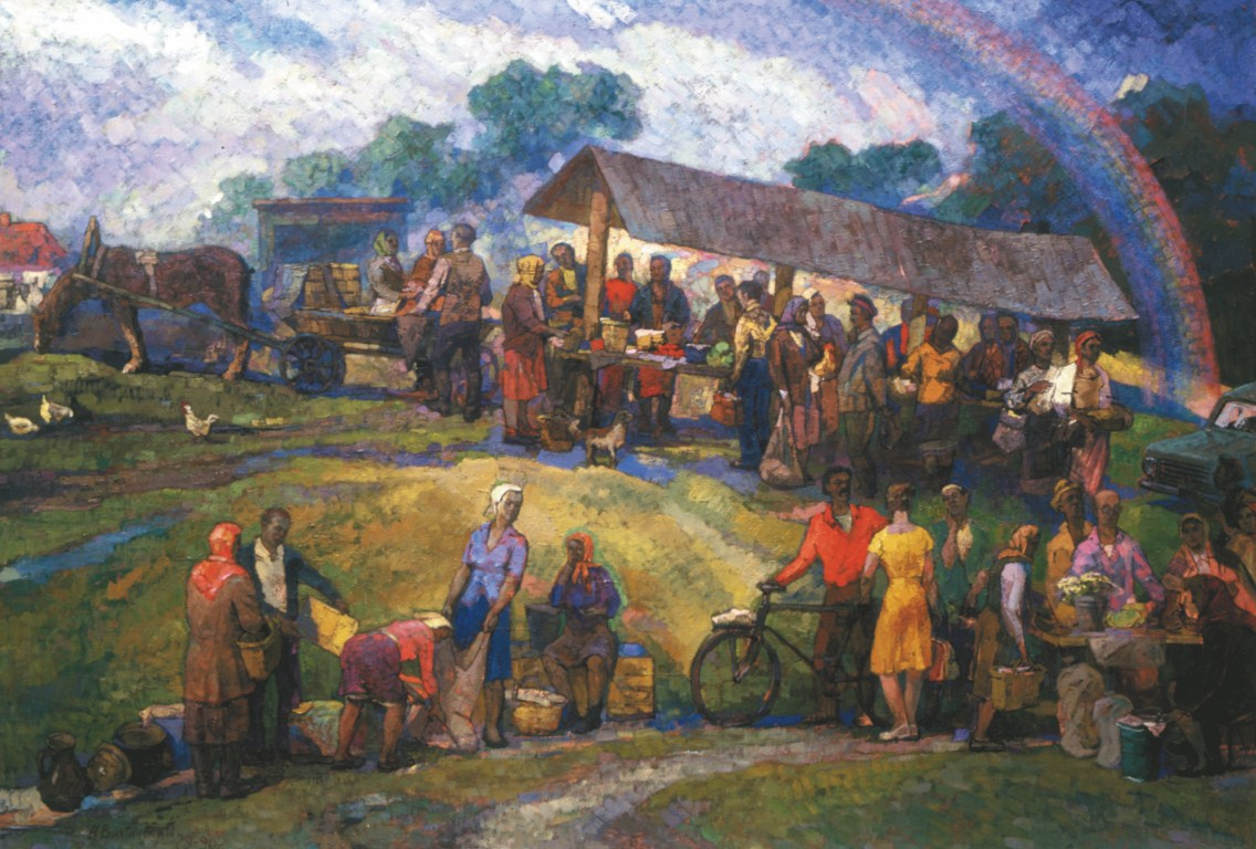 Artists of Ukraine and their paintings: a selection of sites