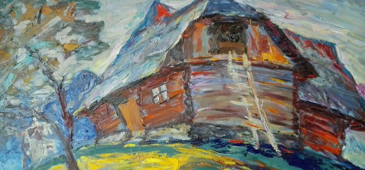 Roman Luchuk: Painting the Essential Carpathian Landscape