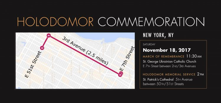 On November 18, the Ukrainian-American community in New York will mark the 85th anniversary of the Holodomor