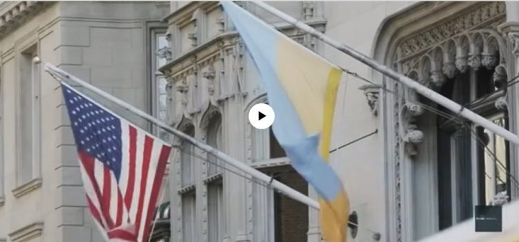 Voice of America coverage about the Ukrainian Institute of America