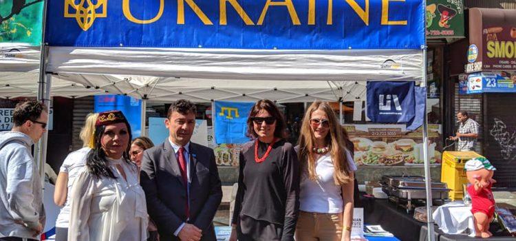 Ukrainian Cultural Pavilion Shines at 92Y Street Fest '18