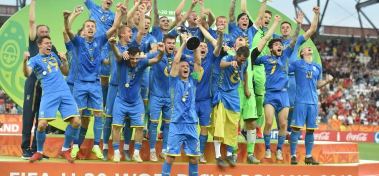 Ukraine's National Youth Soccer Team Wins 2019 FIFA U20 World Cup