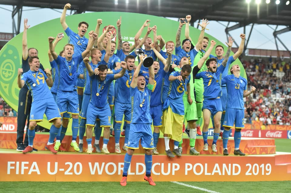 Photo source: National Football Team of Ukraine Facebook page