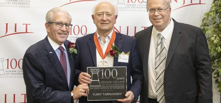 Congratulations to Yuriy Tarnawsky on his achievements and induction into New Jersey Institute of Technology's NCE 100 Hall of Fame