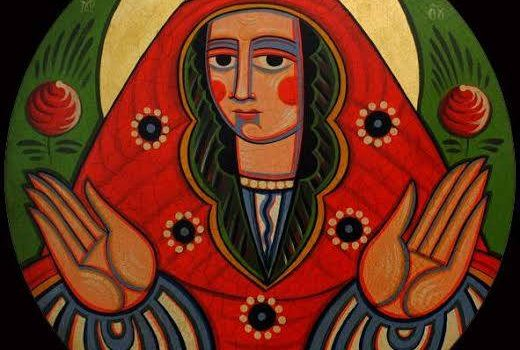Today, October 14, Ukrainians celebrate the Feast of the Protection of Our Most Holy Lady (Покрова) and the Defender of Ukraine Day (День Захисників Вітчизни)