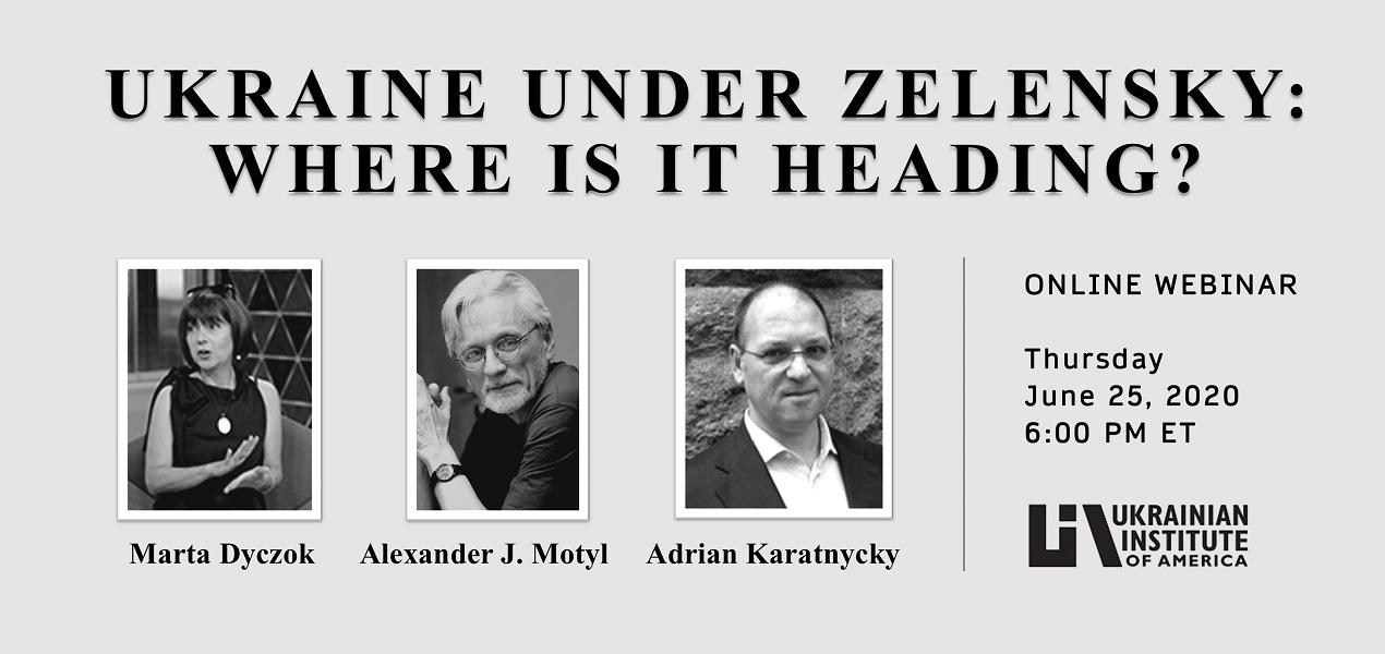 Ukraine under Zelensky