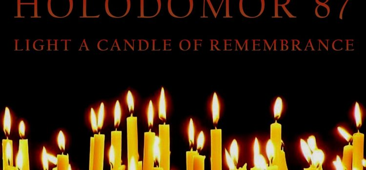 Holodomor Remembrance Day