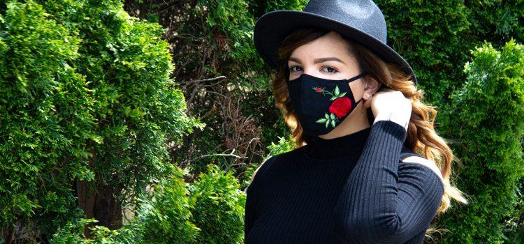Ukrainian designer's stylish masks