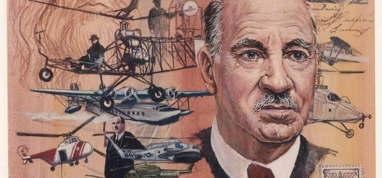 Ihor Sikorsky (1889-1972), father of modern helicopters