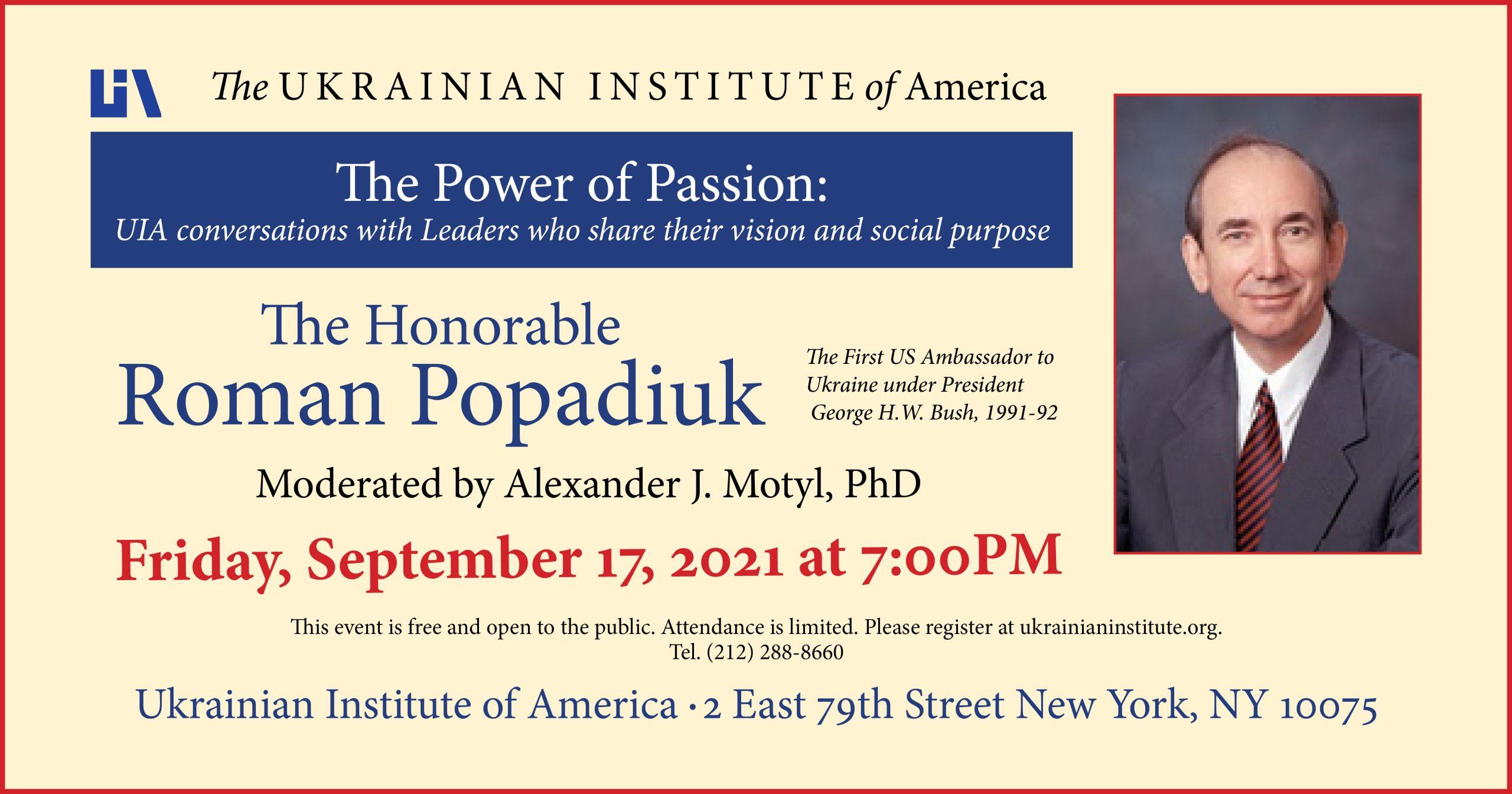 Popadiuk event